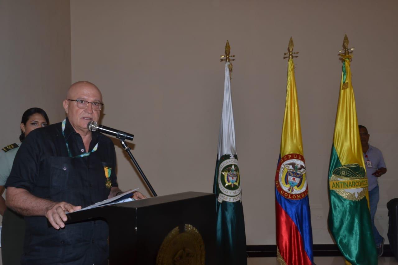 Domingo Segundo Chinea Barrera, presidente de la Sociedad Portuaria de Santa Marta