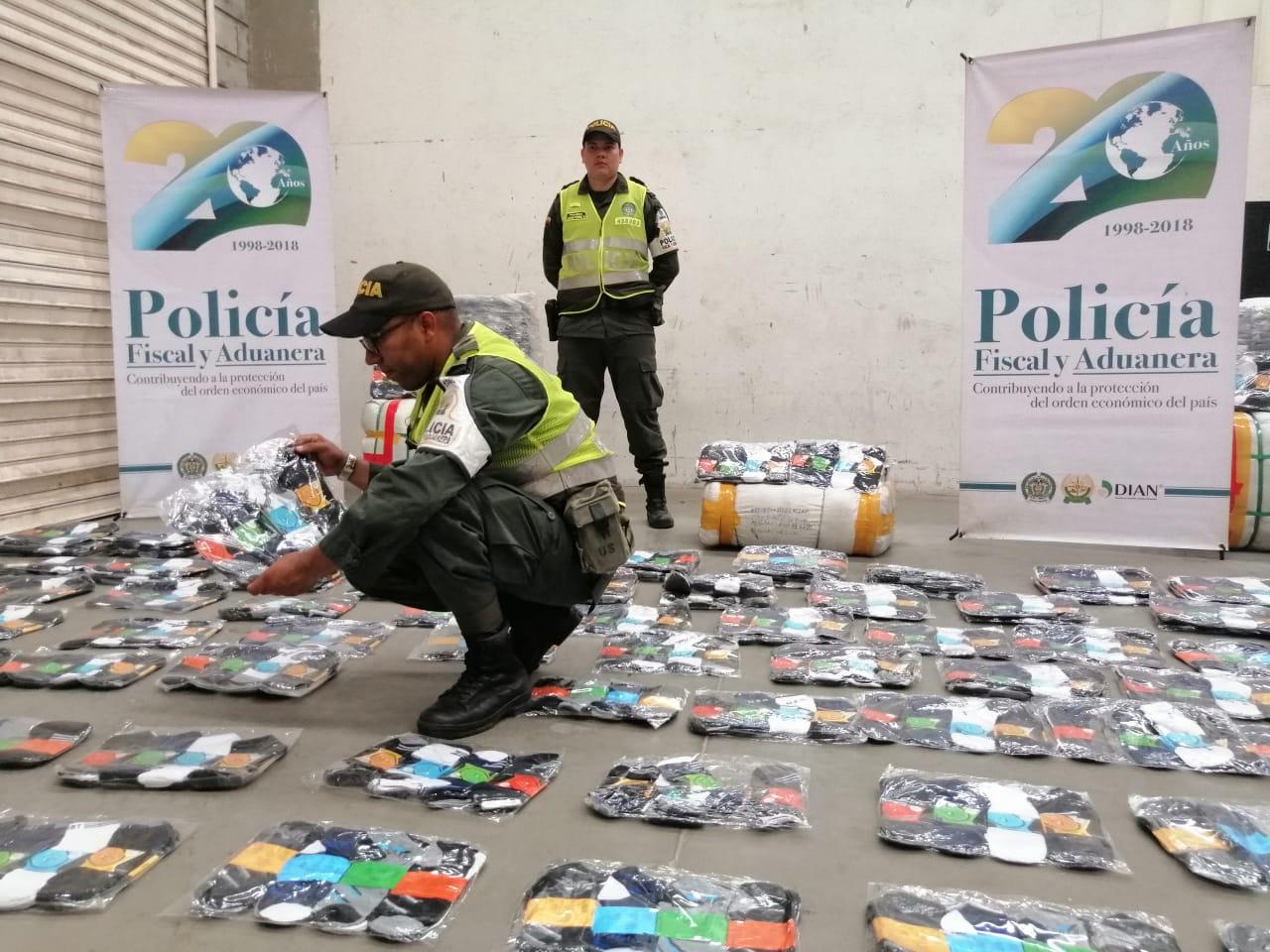 La Policía asestó el golpe al contrabando en la 'Y' de Ciénaga.