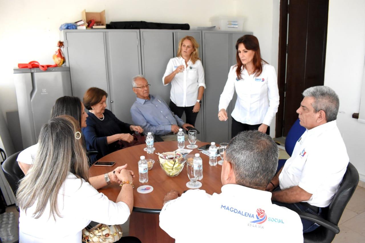 Reunion entre el Gobierno Departamental y la Iglesia de Jesucristo De los Santos de los Últimos Días