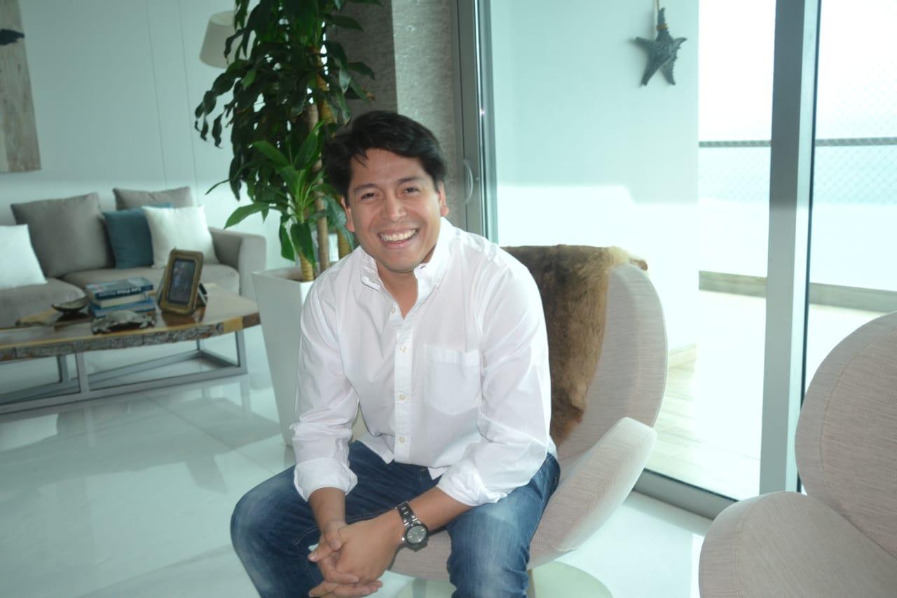 Carlos Jiménez es el director ejecutivo de la Promotora Jiménez.