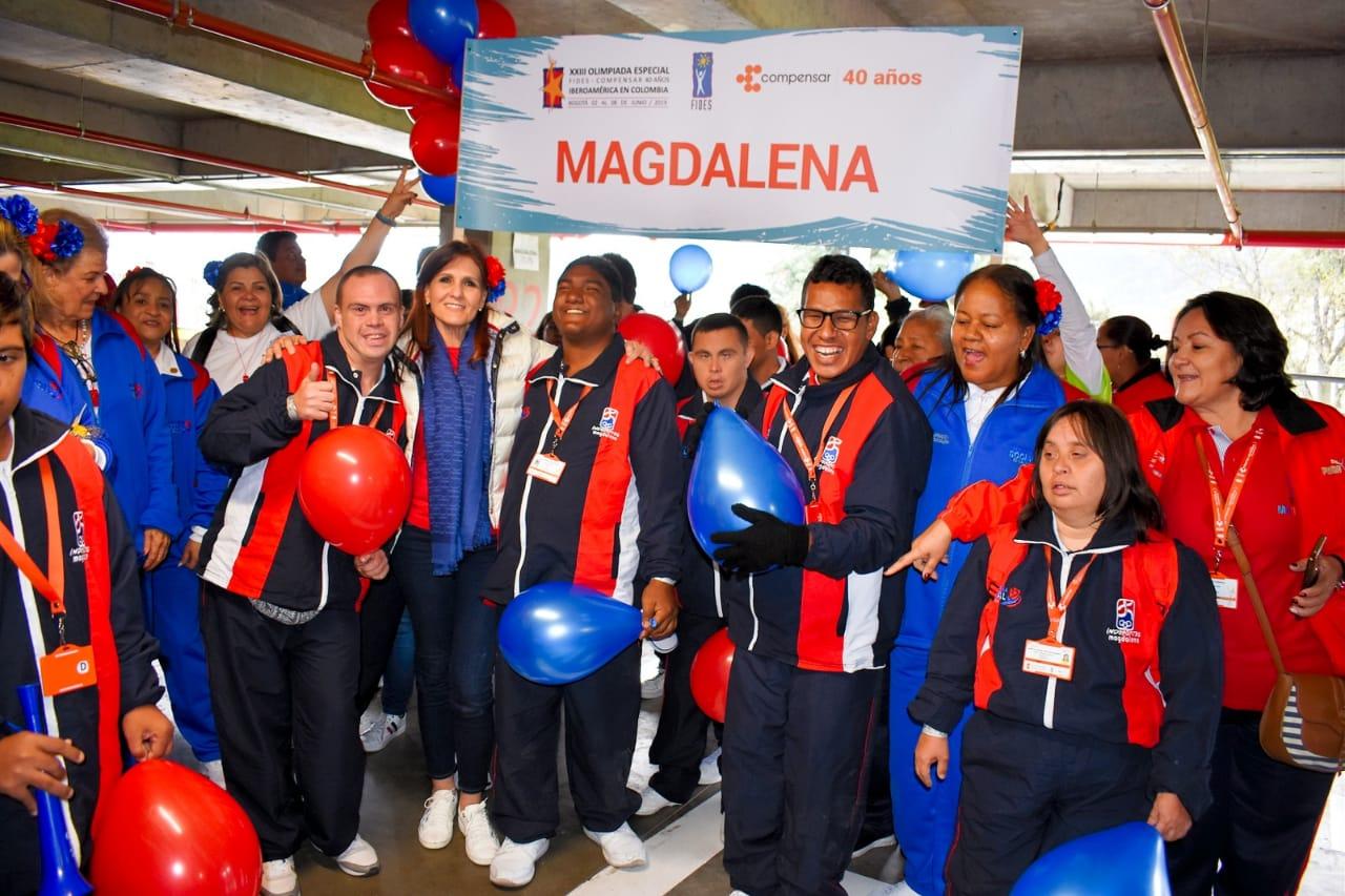 Jóvenes de diferentes municipios representan al Magdalena