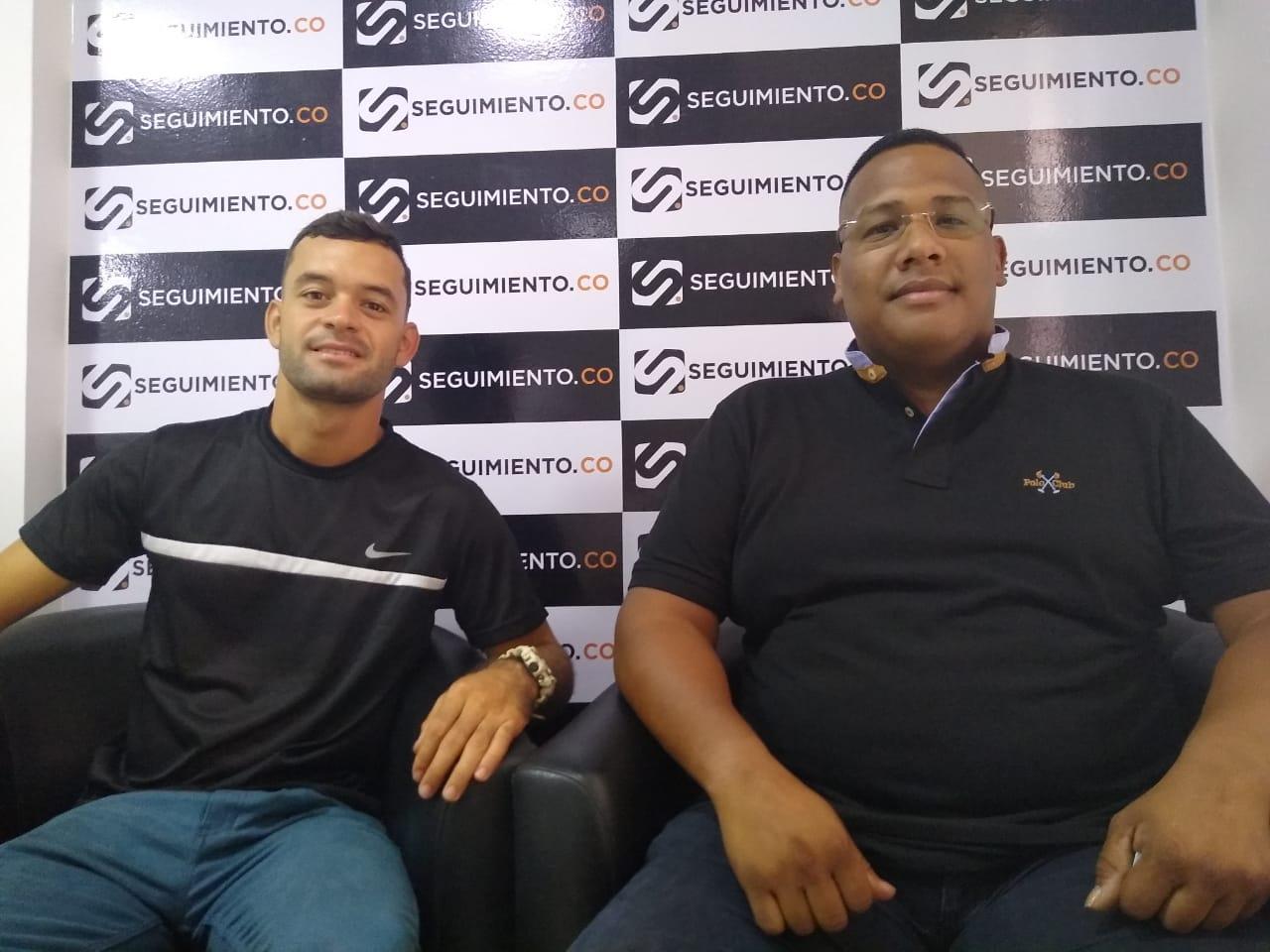 Juan Camilo Holguín y  Nelson Daza.