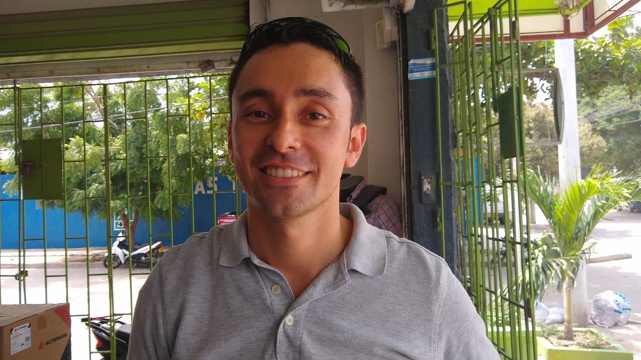 Fabio Gelves Rueda, el comerciante.