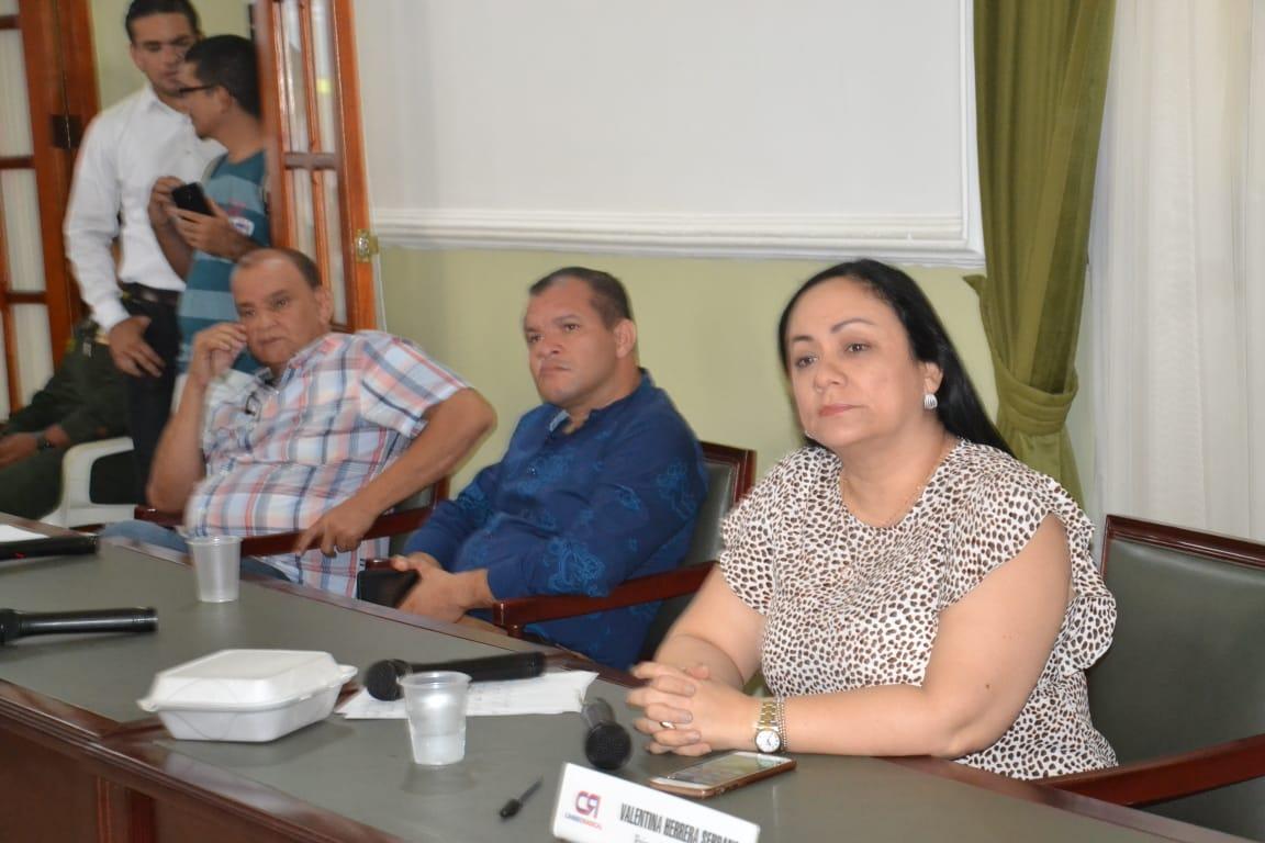 El máximo jefe de la Policía en el Distrito entregó un informe de gestión en la Asamblea Departamental del Magdalena.