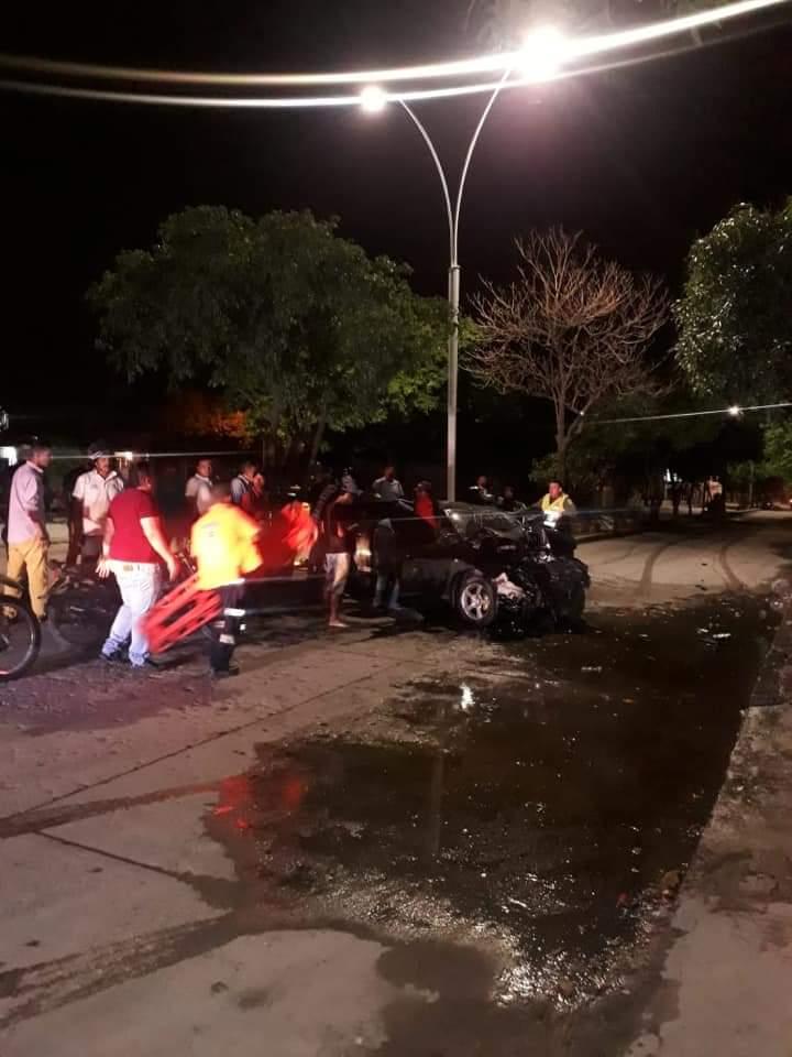 Seis personas resultaron heridas en el hecho.