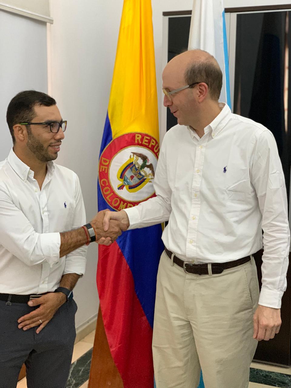 Armando Parrales fue nombrado por el alcalde (e) Andrés Rugeles.