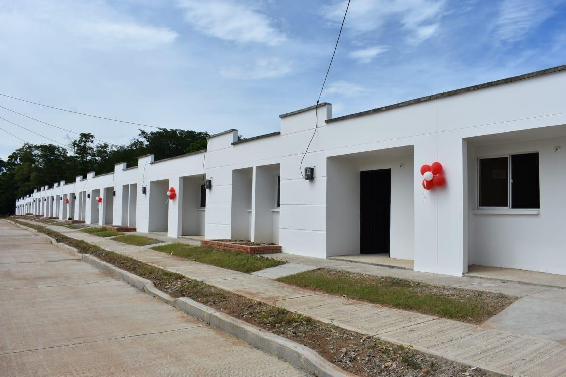 La urbanización contó con inversiones del Gobierno Nacional por 10.000 millones de pesos.