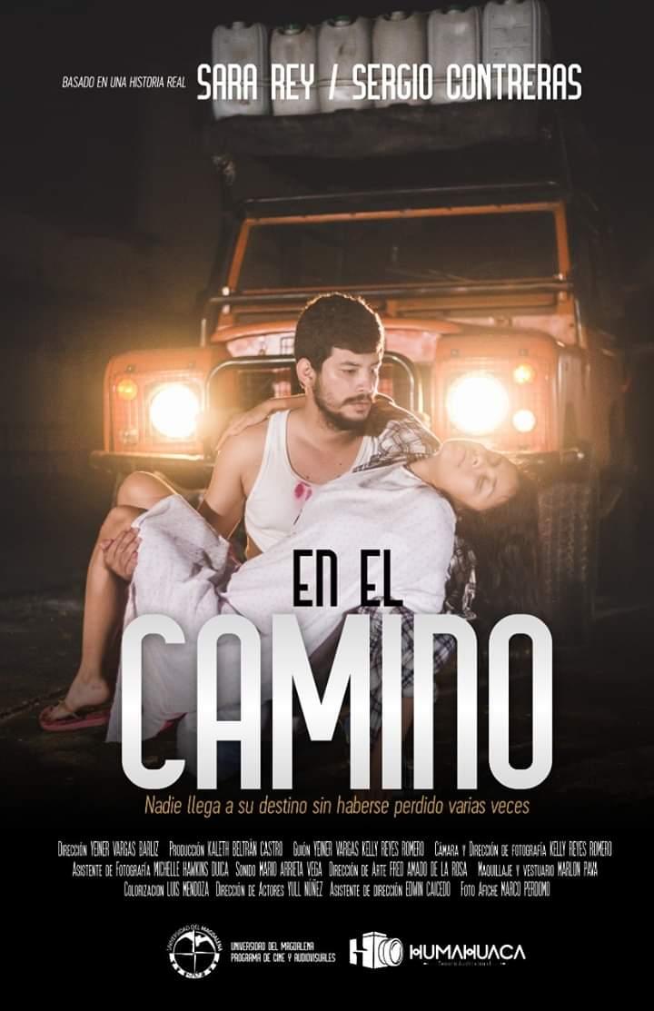 El cortometraje es protagonizado por  Sara Rey y Sergio Contreras