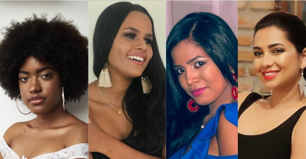 Evelyn López, Valeria Granados, Laura Jaramillo y Erika Linares