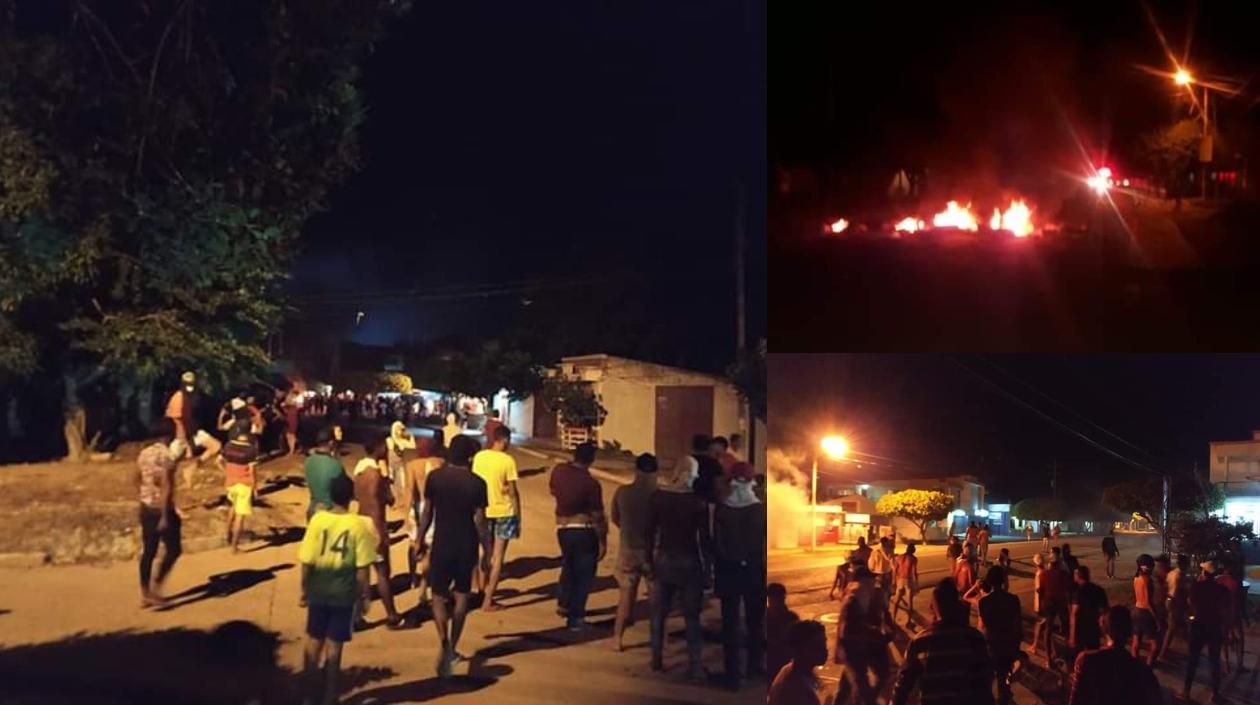 Disturbios en Fonseca.