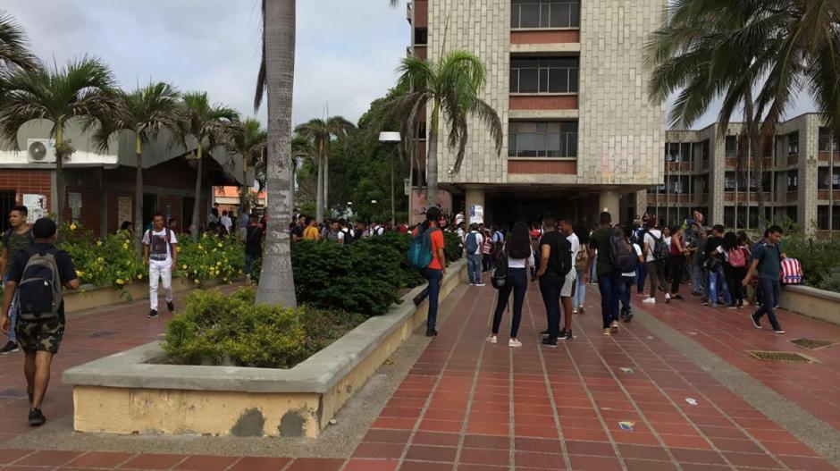 La Universidad del Atlántico en el proceso de evacuación.