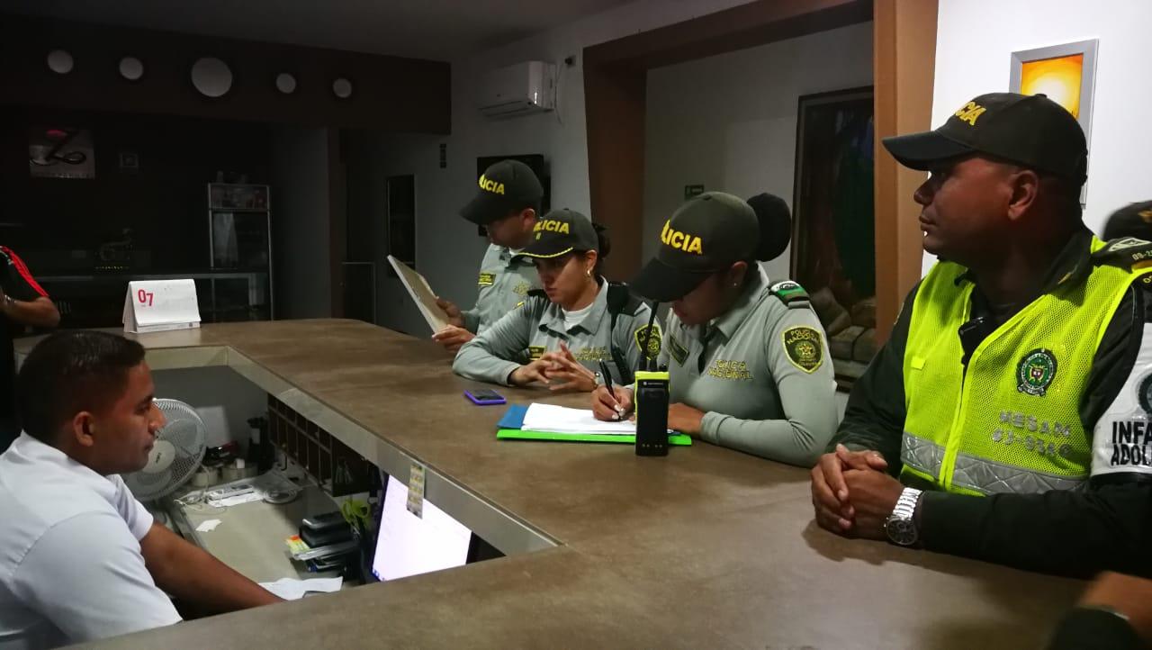 Operativos de la Policía.