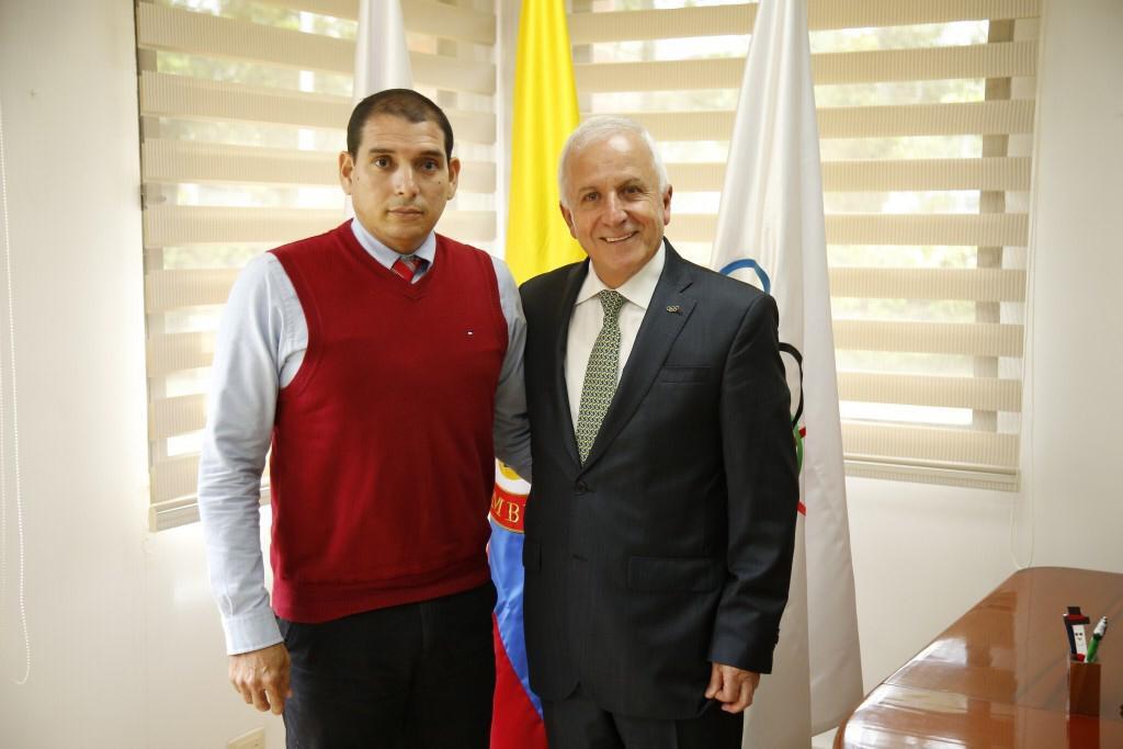 Reunión de los funcionarios en Bogotá