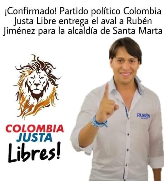 Esta fue la imagen que comenzó a circular desde temprano, compartida por allegados a Rubén Jiménez.