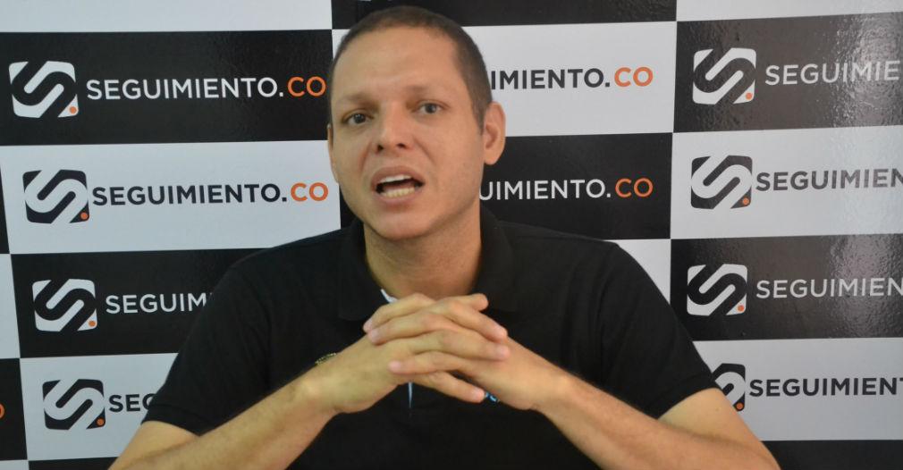 'Nene' Pérez, alcalde de Ciénaga.