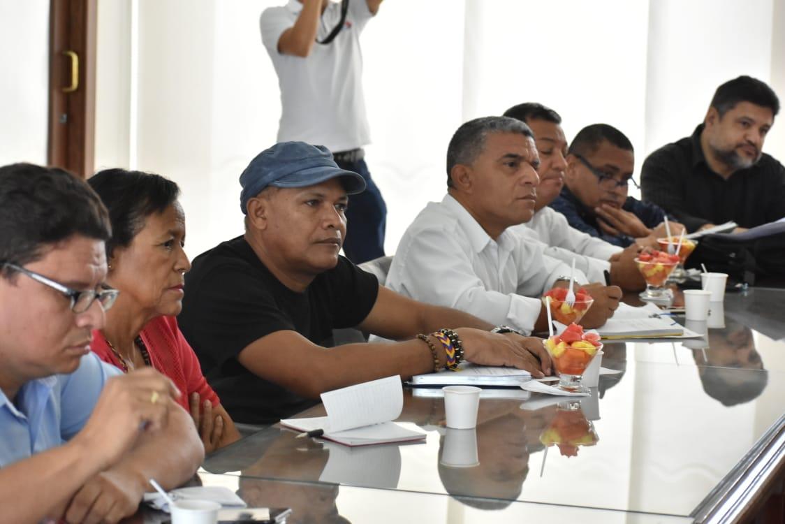 En la jornada participaron el Secretario de Educación, el Jefe de la Oficina Programas de Alimentación, Asesores Financieros y jurídicos, además de la mesa directiva de Edumag.