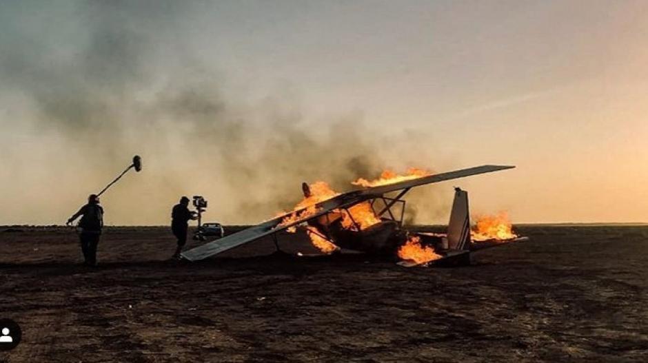 Avioneta de Carlos Vives incinerada en La Guajira