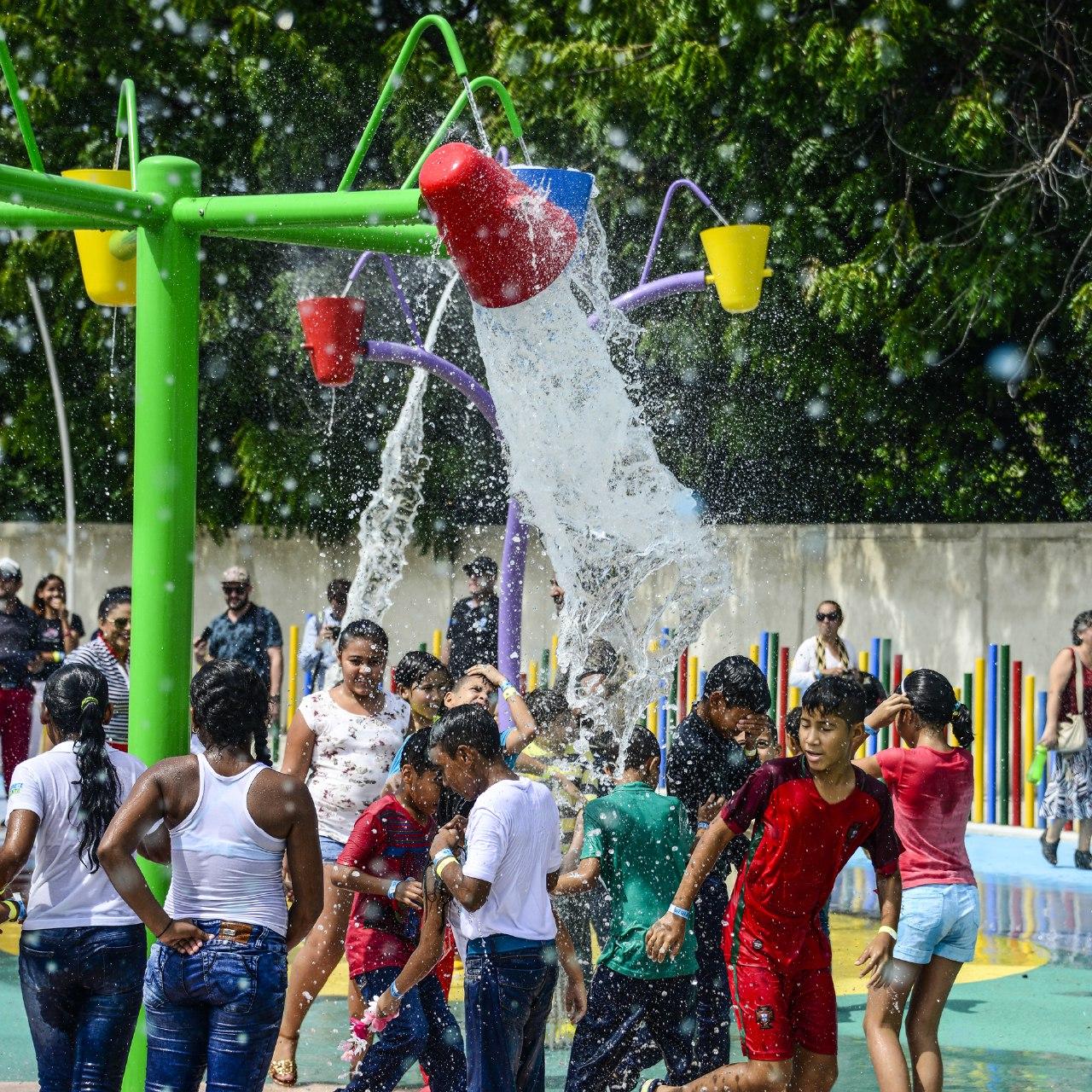 El 30 de junio fue el día con más visitantes en el Parque del Agua.