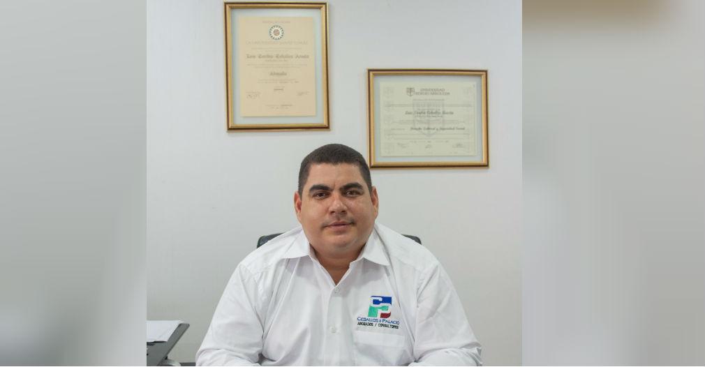 Abogado Luis Toribio Ceballos Acosta