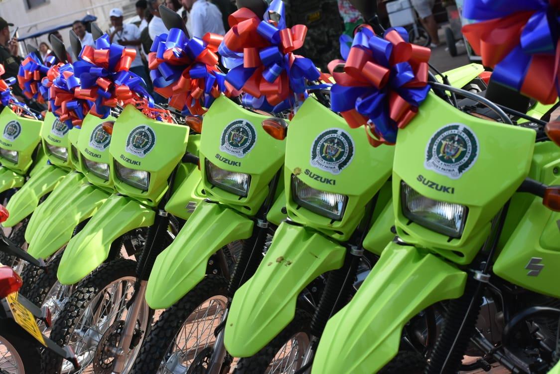 Motocicletas para Policía.