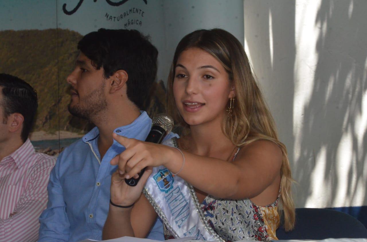 Reina Anfitriona de la Fiesta Nacional del Mar, Patricia Hurtado Dávila.