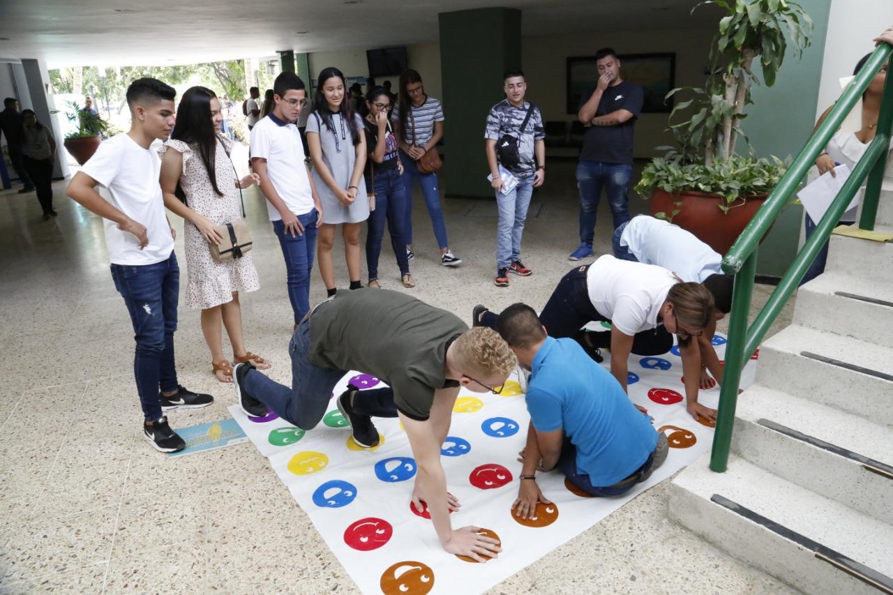 Actividades para los nuevos estudiantes