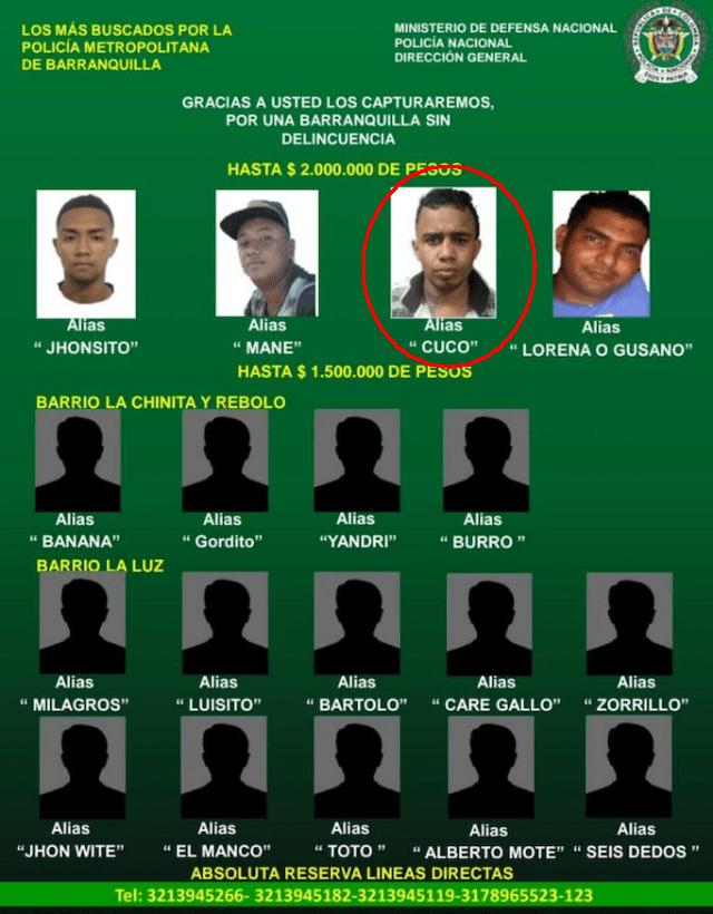 Los más buscados en Barranquilla