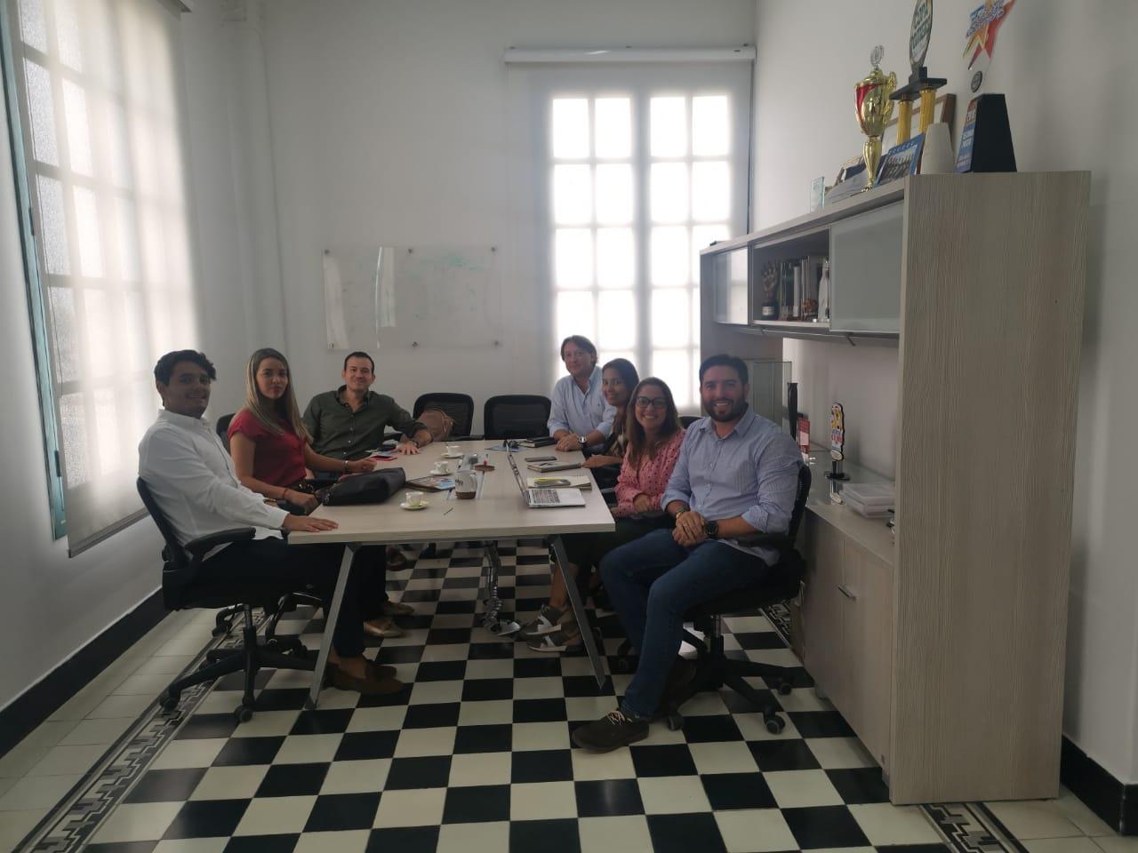Participantes de la mesa de trabajo.