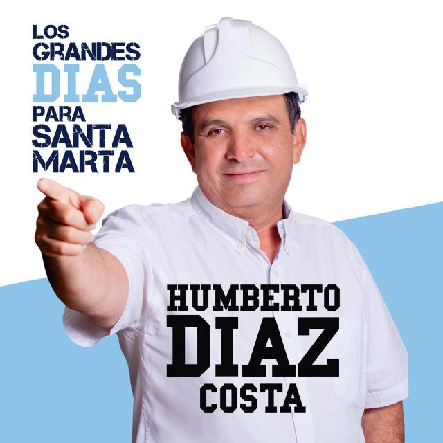 Humberto Díaz, candidato a la alcaldía.