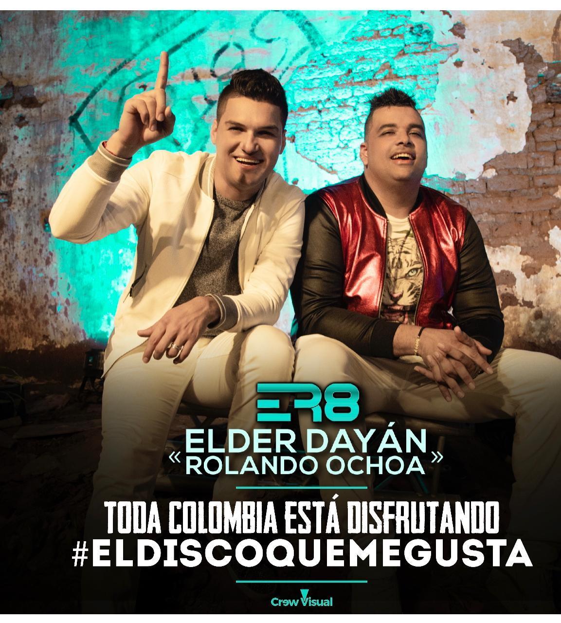 El Disco Que me Gusta lo nuevo de Elder Dayán y Rolando Ochoa