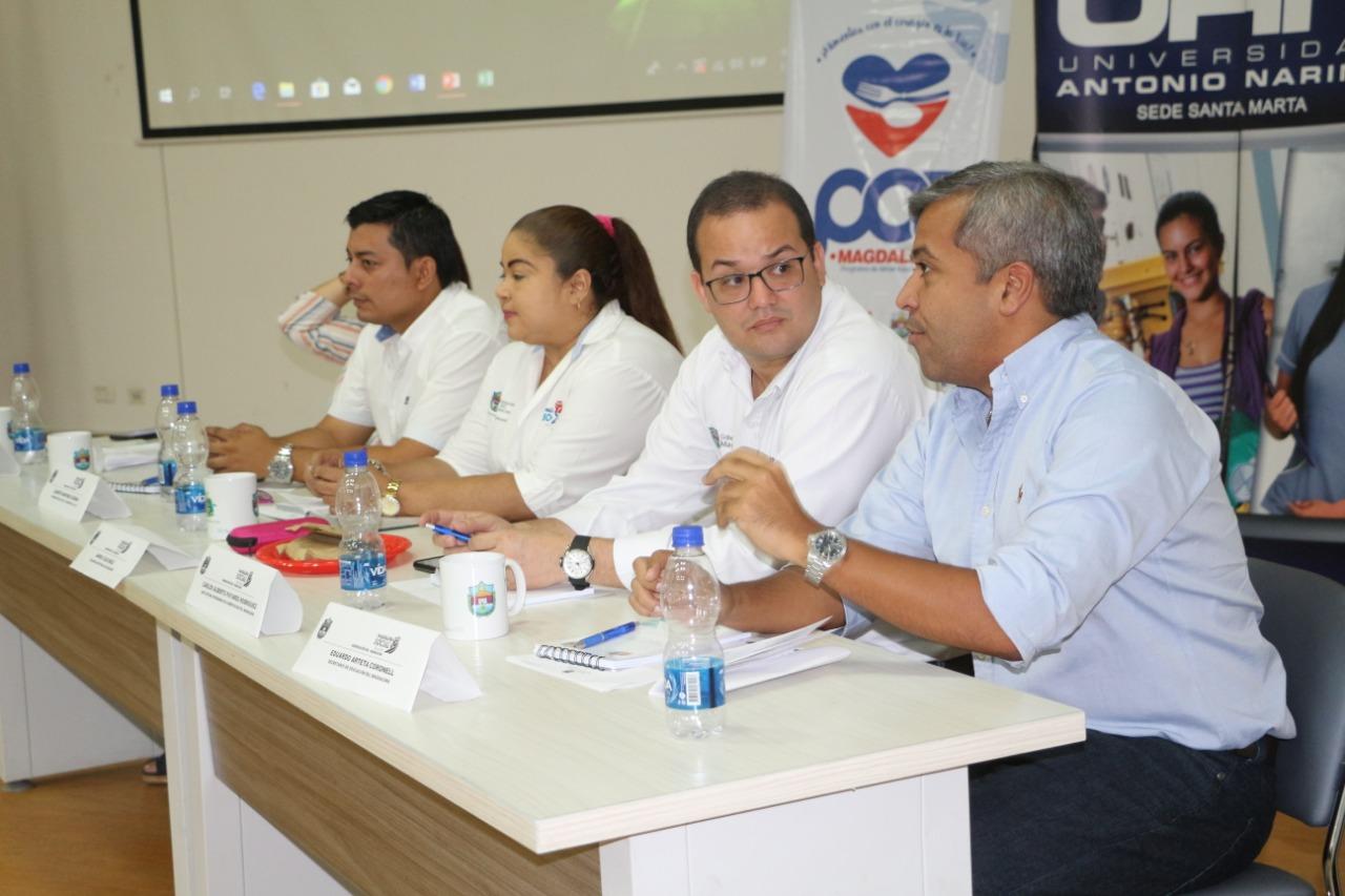 La jornada que estuvo liderada por la oficina del PAE,  adscrita a la Gobernación del Magdalena.