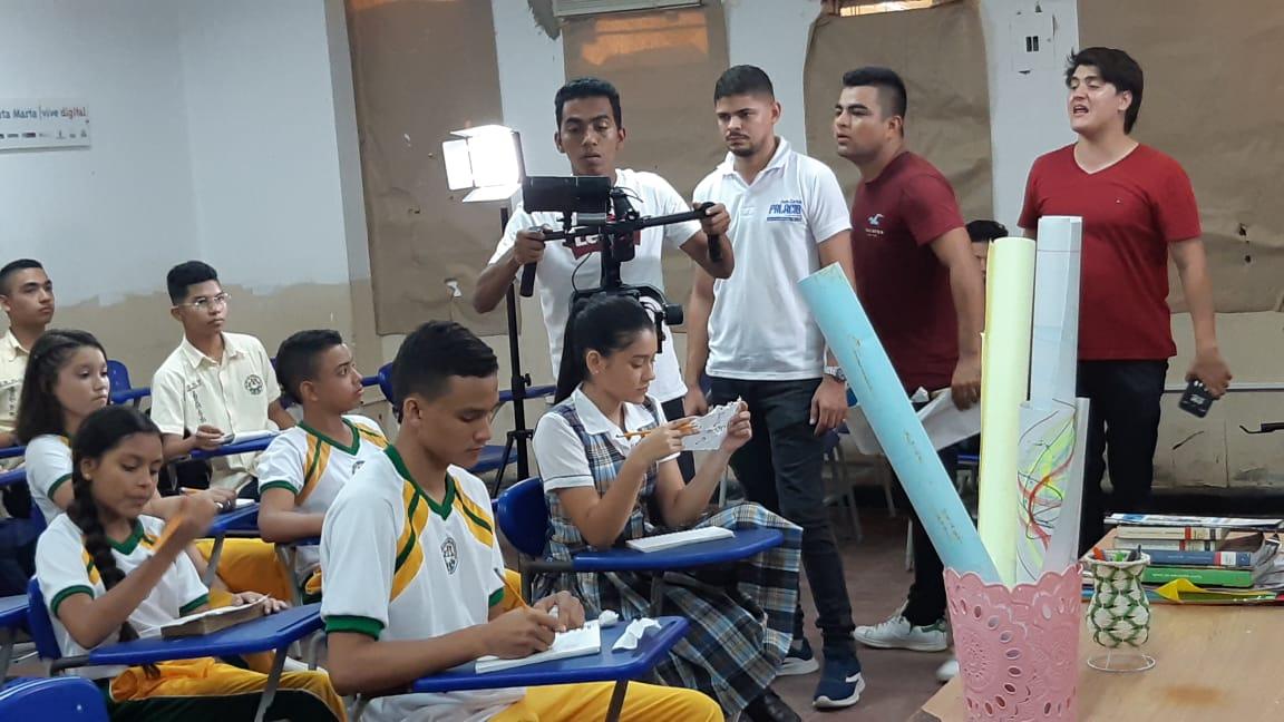 Imágenes del detrás de cámara del video 'Ahora Si' de Dago Orozco