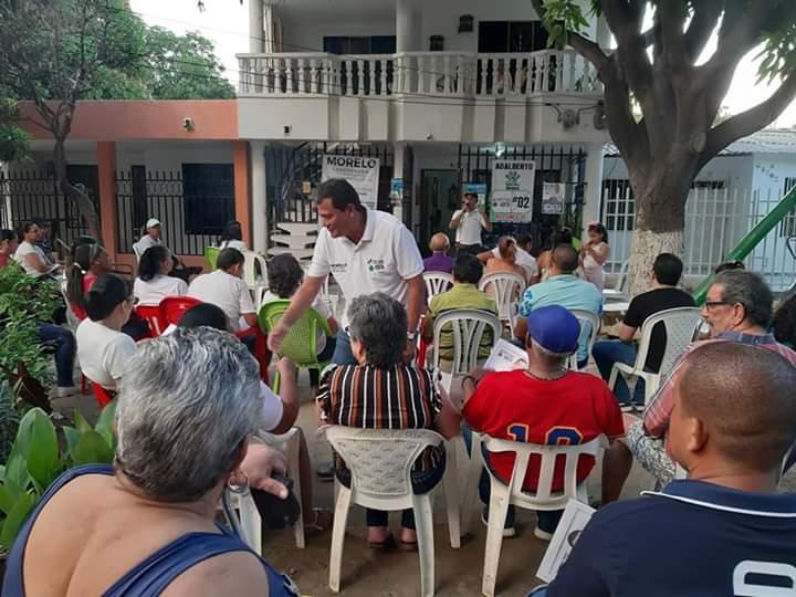 Wilson Morelo visitó Plato y Tenerife.