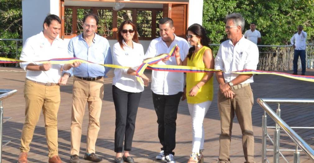 El 14 de junio se llevó a cabo el tradicional corte de cinta el Parador Turístico.