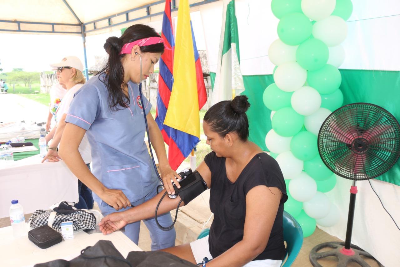 Jornada de salud en Salamina