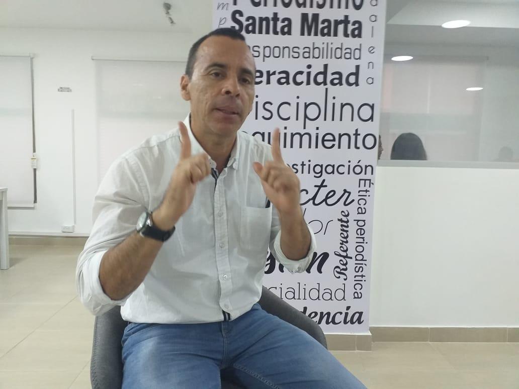 Edward Torres, candidato a la Gobernación por el Polo Democrático