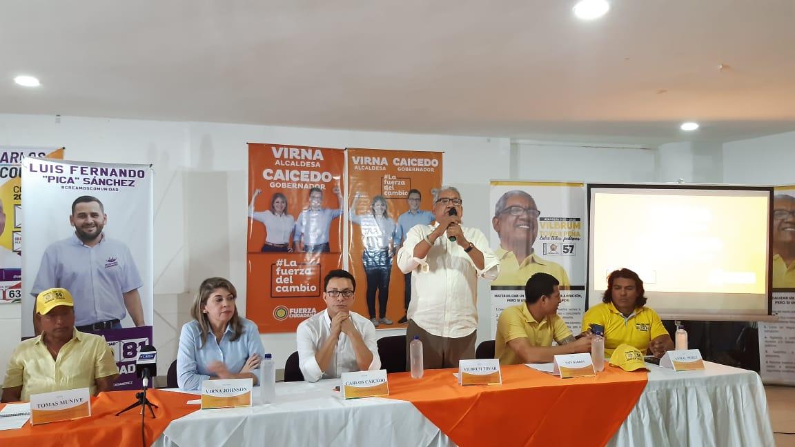 El comité ejecutivo nacional del Polo no le vio el visto bueno a la decisión tomada por la coordinación departamental de adherirse a la candidatura de Carlos Caicedo.