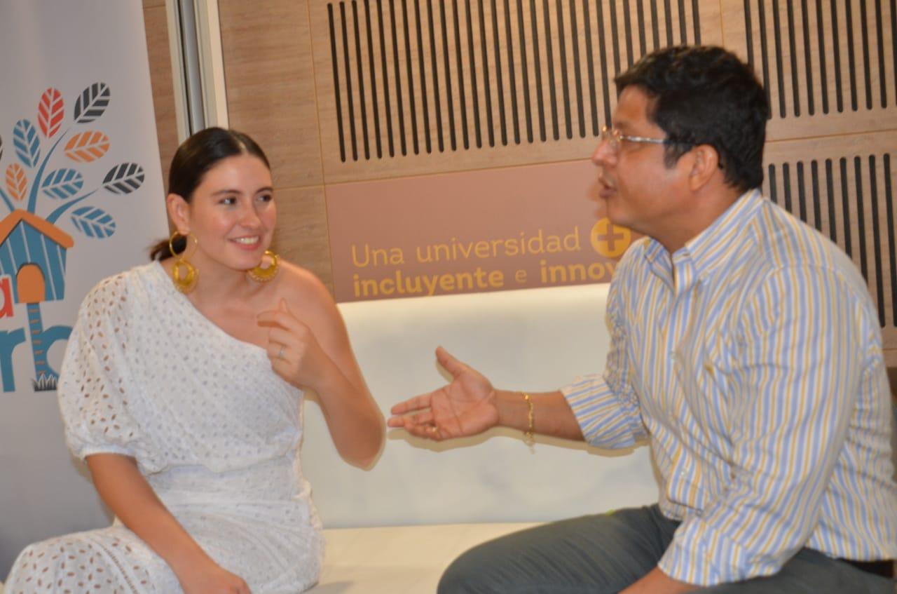 Taliana Vargas y Pablo Vera