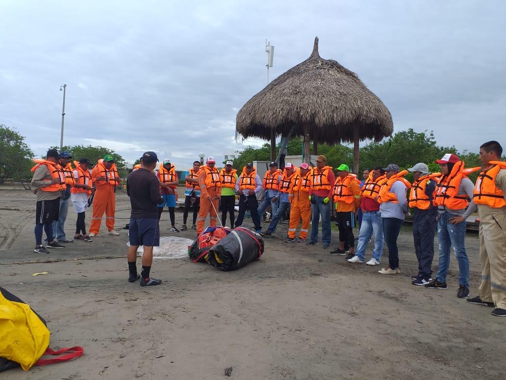 Pescadores de Ciénaga y Santa Marta se vieron beneficiados con el curso.