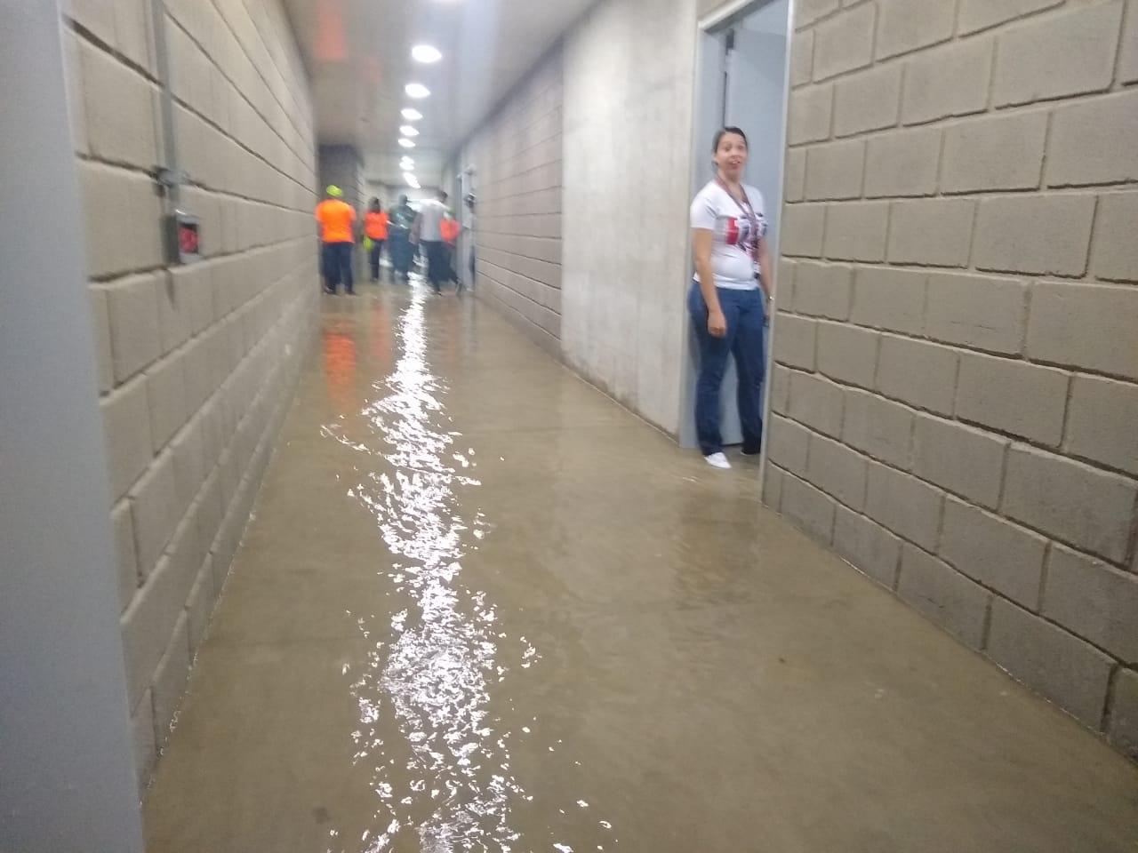 Camerinos inundados