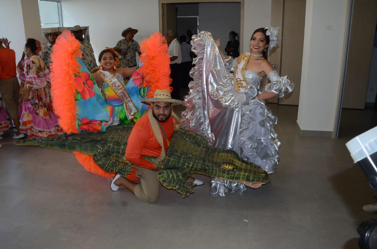 Reinas del Festival Nacional del Caimán Cienaguero.