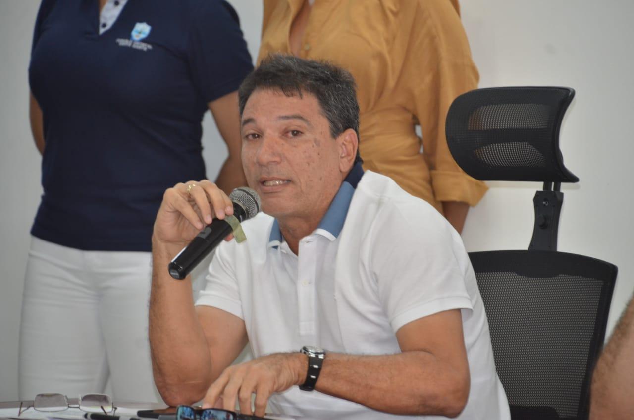 El concejal Juan Carlos Pinedo
