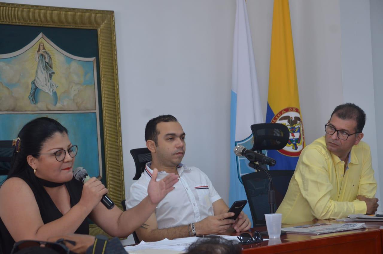 Mesa directiva del Concejo Distrital