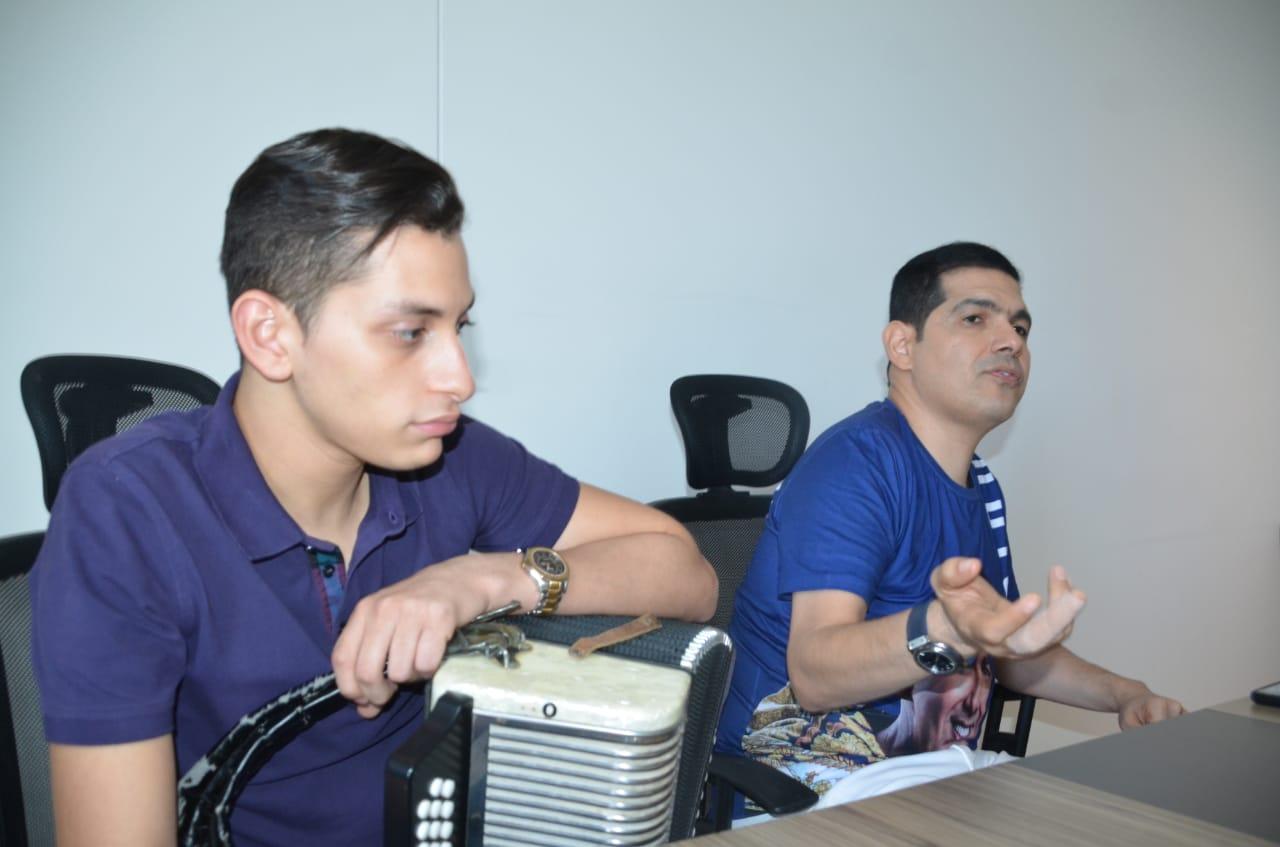 Rueda de prensa en Santa Marta