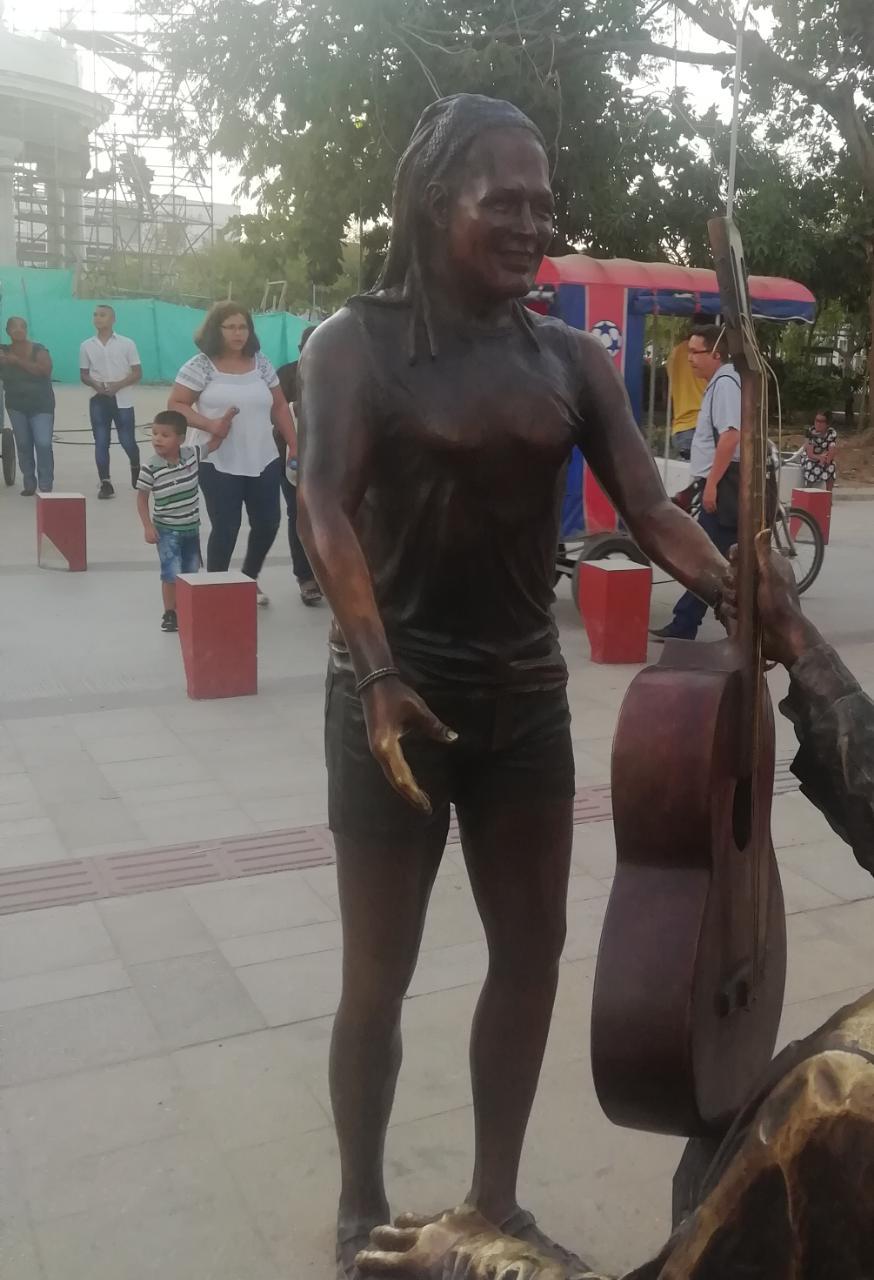Escultura de Carlos Vives