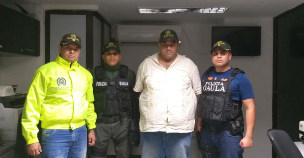 Esta fue la foto del estafador liberado y presentado como un ganadero del Cesar.