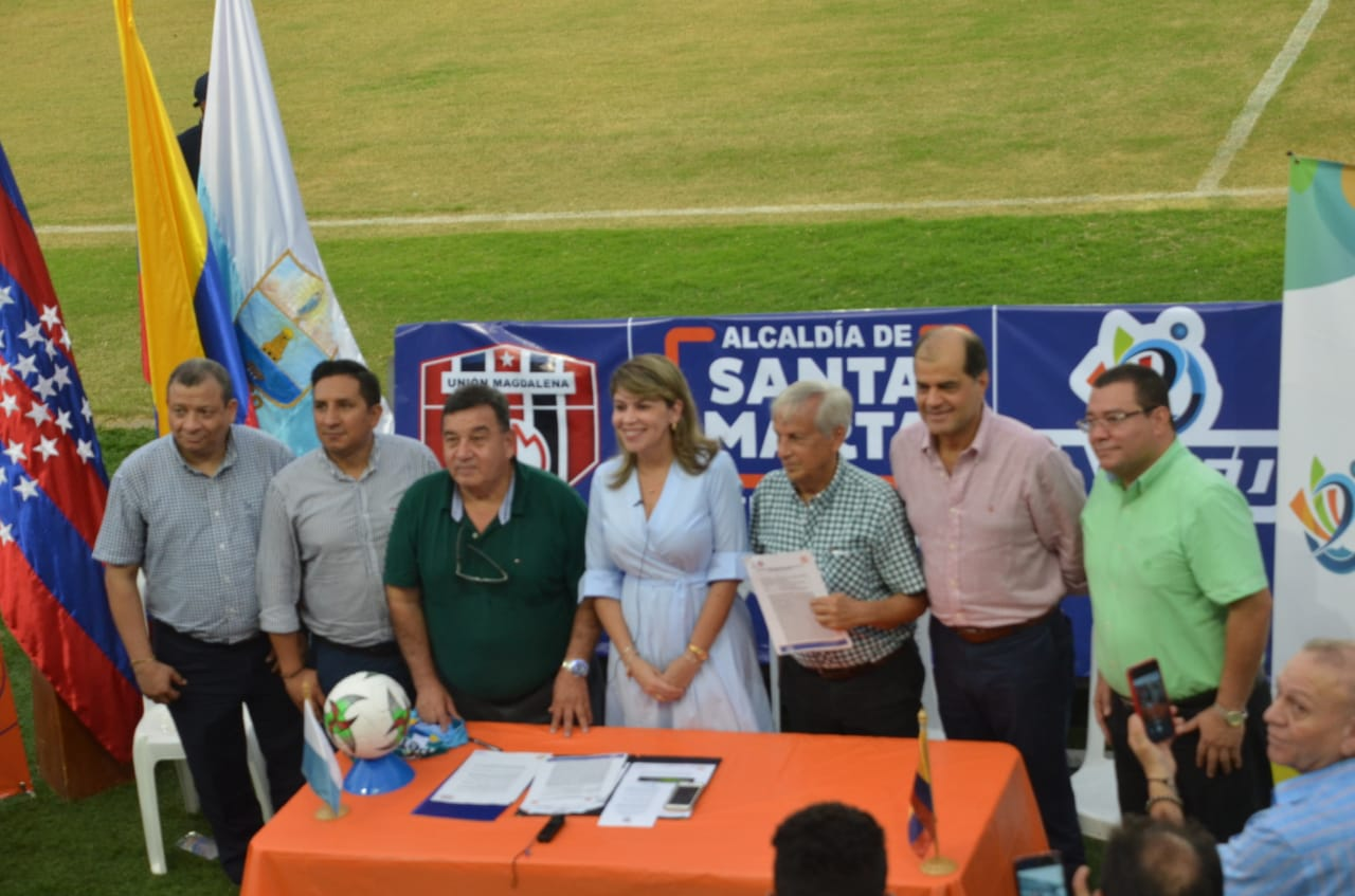 El Distrito le brinda el respaldo al Unión Magdalena para que siga en Santa Marta.