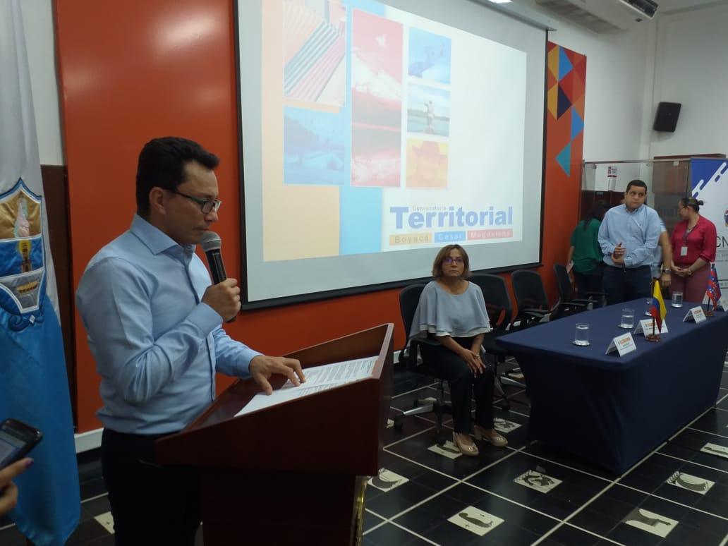 El gobernador del Magdalena fue el encargado de abrir la jornada de socialización de la convocatoria pública de empleo.