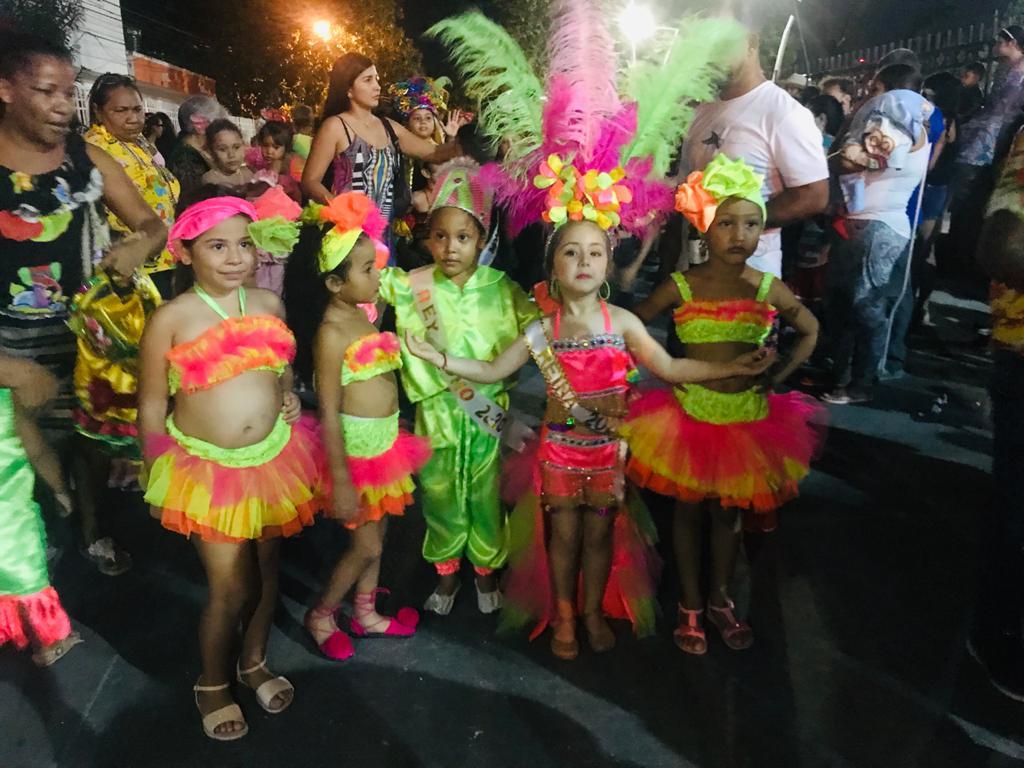 La Reina ha participado en varios desfiles de este festejo carnavalero.