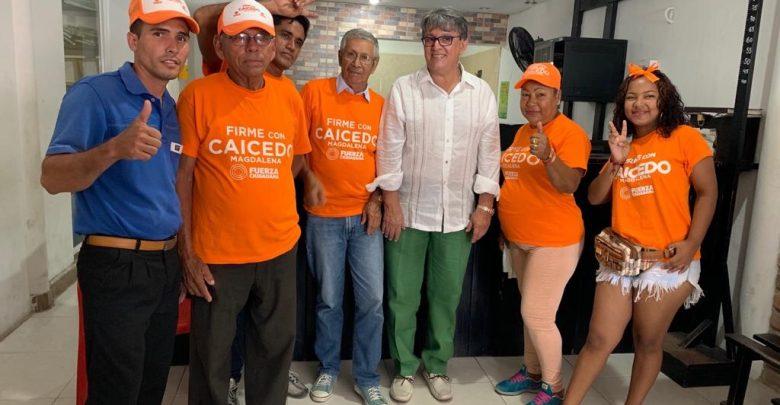 El excandidato a la Alcaldía de Aracataca respaldó la candidatura de Caicedo